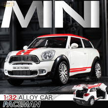1:32 Alloy Diecast Model High Simulation Exquisite Diecasts&Toy Vehicles Double Horses Car  JCW PaceMan