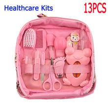 Multifunction Baby Healthcare Kit Newborn Kid Care Kit Baby Grooming Set Kit Thermometer Clipper Kid Toiletries for Baby