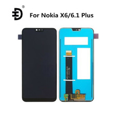 "HD 5.8"" LCD Screen For Nokia X6 6.1 Plus LCD Display Touch Digitizer Screen For Nokia X6 TA-1099 TA-1103 TA-1083 TA-1099 Display"