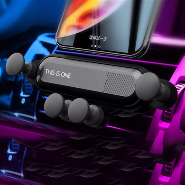 Master Design Gravity Car Holder For Phone in Car Air Vent Clip Mount No Magnetic Mobile Phone Holder GPS Stand For IPhone Xiomi