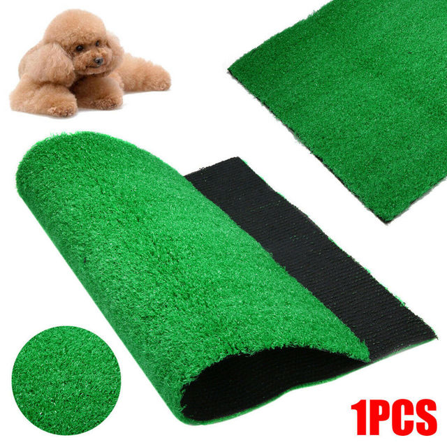 40x26cm 54x39cm Puppy Potty Training Grass Indoor Dog Cat Toilet Artificial Grass Pet Pee Trainer Pad Grass for Dogs Cats