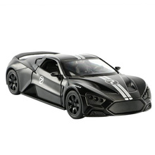 14.5CM 1:32 Scale Classic Diecast Alloy Car Model ZENVO STI Denmark  Racing Off Road Vehicle Toys for Kids Children Gift Collect