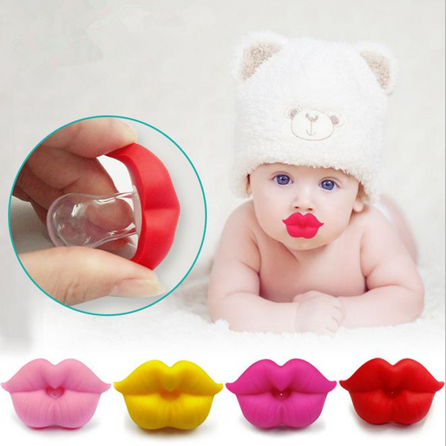 Baby Soother Silicone Funny Nipple Teether Dummy Pacifier Joke Prank Toddler Pacy Orthodontic Nipples Baby Pacifier игрушки