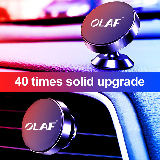 OLAF Magnetic Car Phone Holder Stand in Car Mobile Phone Holder Stand Magnet Air Vent Mount Car Holder For iPhone XS XR Samsung