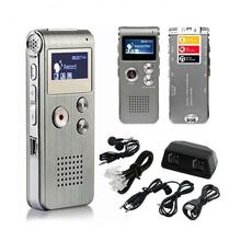 2-in-1 8GB LCD Digital Voice Recorder Portable Dictaphone HD Mini Digital Audio Recorder Sound Pen WAV MP3 Player With Speaker