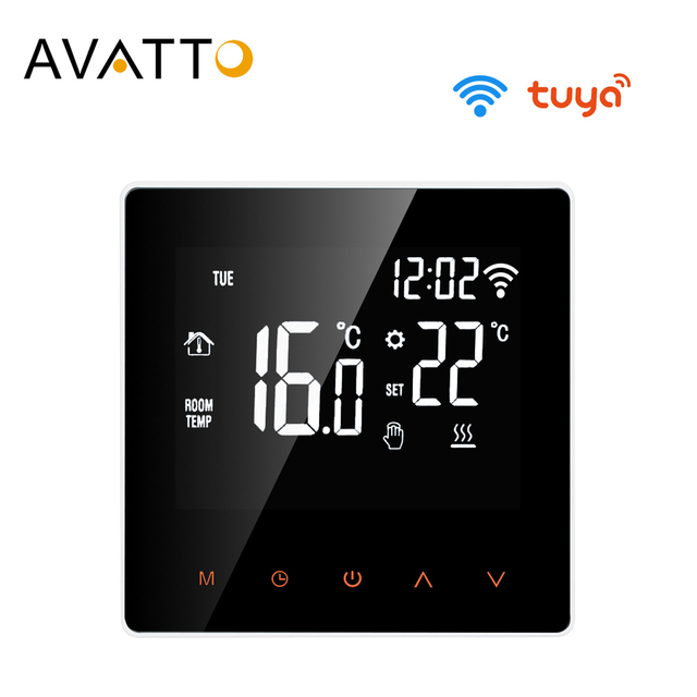AVATTO Tuya WiFi Smart Thermostat Temperature Controller for Electric floor Heating,Water/Gas Boiler Voice Work for Google Home