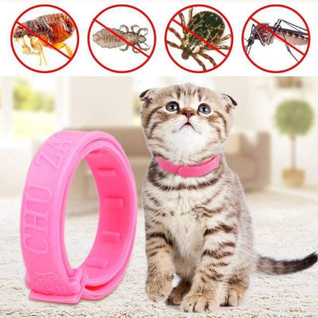Adjustable Cat Collar Safe Anti Flea Tick Mosquito Protection Pet Dog Neck Strap Supplies Against Mite Repellent Dropshipping
