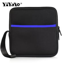YiYaYo DVD Drive package Bag Square Space Cotton Protective Case Small and Portable7.5x7.5x2.5 Prevent from Falling Shaking