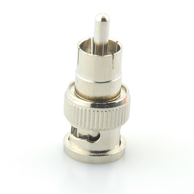 ANPWOO BNC Male to RCA Male Coax Connector Adapter Cable Coupler for CCTV Camera