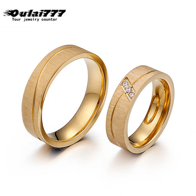 rings for women couple ring men tainless jewelry men's ring punk finger fashion Hip hop stainless steel ring men accesories gold