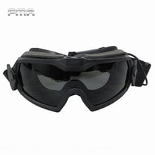 FMA LPG01BK12-2R Regulator Goggles With Fan Updated Version Tactical Airsoft Paintball Safety Eye Protection Glasses Eyewear