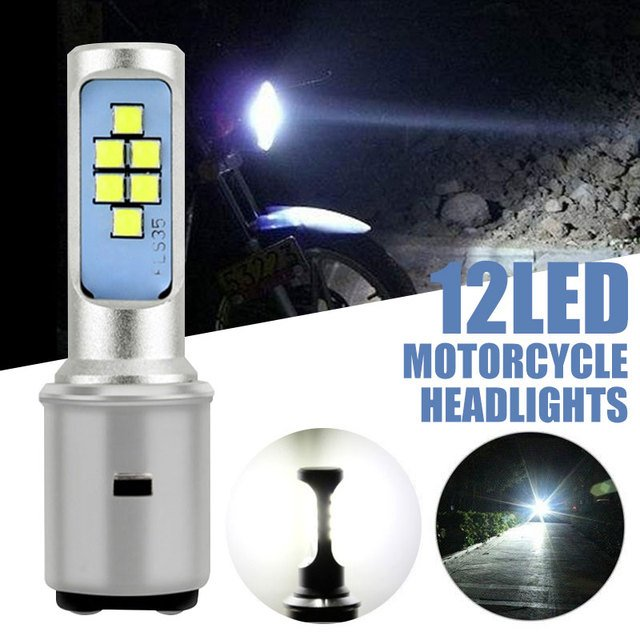 LED Headlight Motorcycle Front Car Lamp Light High Power Parts High Low Beam LED White Light Universal 6000K Super Bright