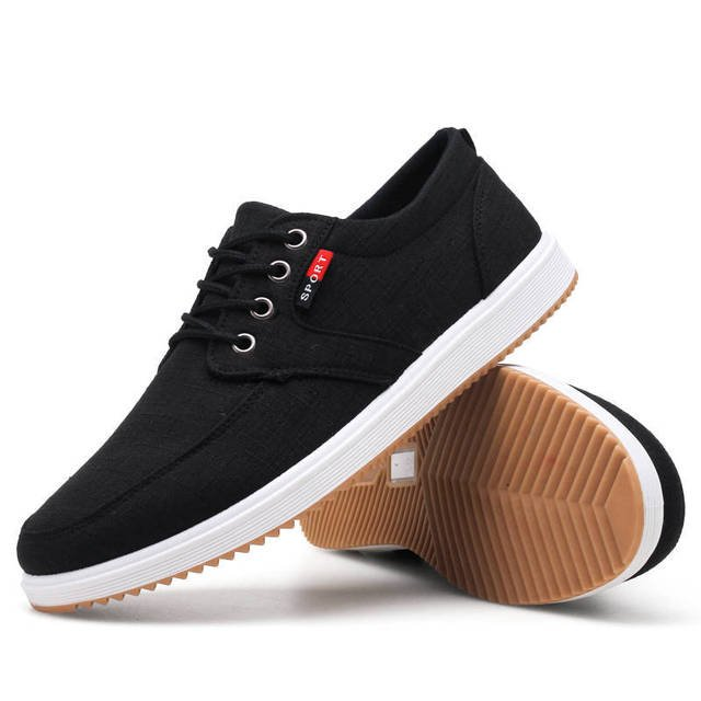 Men Casual Shoes Spring Summer Canvas Shoes Breathable Casual Canvas Men Shoes Walking Men Shoes Chaussure Homme Factory sales