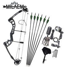 Hunting Bow Set 30-70lbs Recurve Archery Shooting Compound Bow Right Hand.