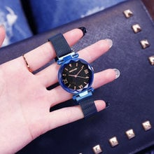 Luxury Exquisite Crystal Starry Sky Women Watches Magnetic Steel Female Dress Casual Wristwatch Ladies Watch relojes mujer 2019