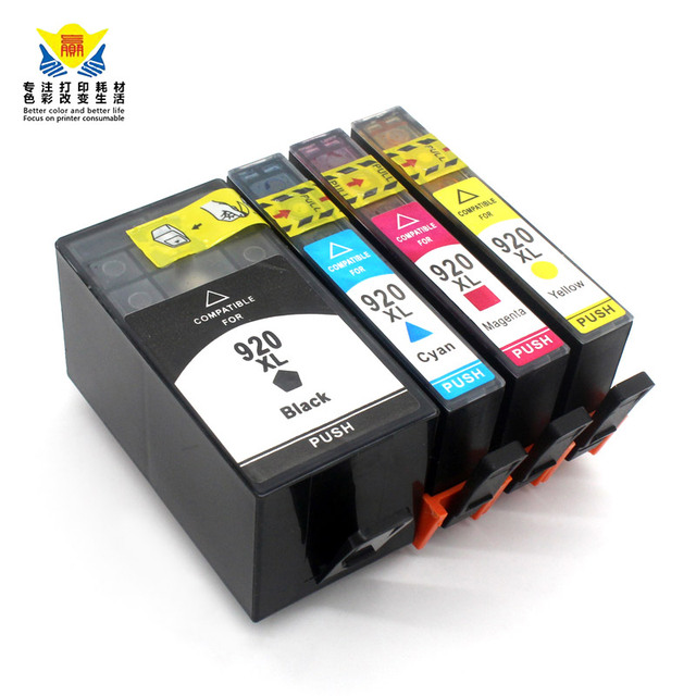 JIANYINGCHEN compatible ink cartridge replacement for HPs 920XL for officejet 6000 6500 6500A 7000 7500 Free shipping Promotion
