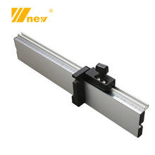Woodworking Tool T Slot Fence Stop Aluminium Alloy Height Miter Track Brackets