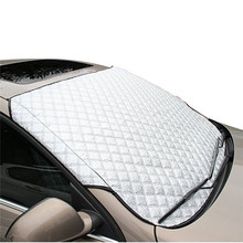 US STOCK MAGNETIC CAR WINDSCREEN COVER SCREEN PROTECTION SHIELD FROST SUN ICE RAIN SNOW