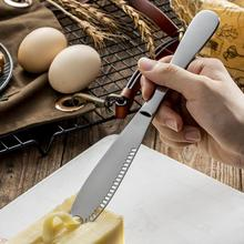 Western Bread Pastry Cheese Cream Butter Knife Grating Cutter Jam Spreader Stainless Steel Grater Slicer Utensil Kitchen Gadget