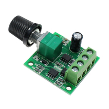 PWM Variable Fan Parts Governor Speed Controller Switch Low Voltage Power Indicator Replacement Motor Module DC Regulator