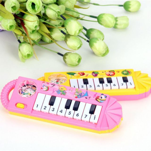 Baby Infant Toddler Developmental Toy Kids Musical Piano Early Educational Game Toy Battery Operated