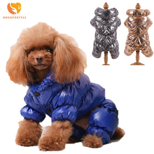 Waterproof Pet Clothes Winter Dog Jumpsuit Rompers Coat For Small and Medium Dogs Thick Clothing Warm Pet Apparel DOGGYZSTYLE