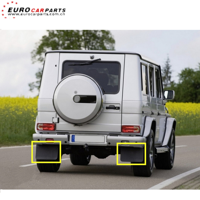 W464 mud flaps fit for G-class 2018-2019y W464 PP plastic material new g class mud flaps left and right