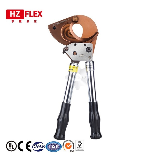 RATCHET CABLE CUTTER TOOLS Cutting capacity cutting Armored cable or Cutting aluminum cable 50mm2