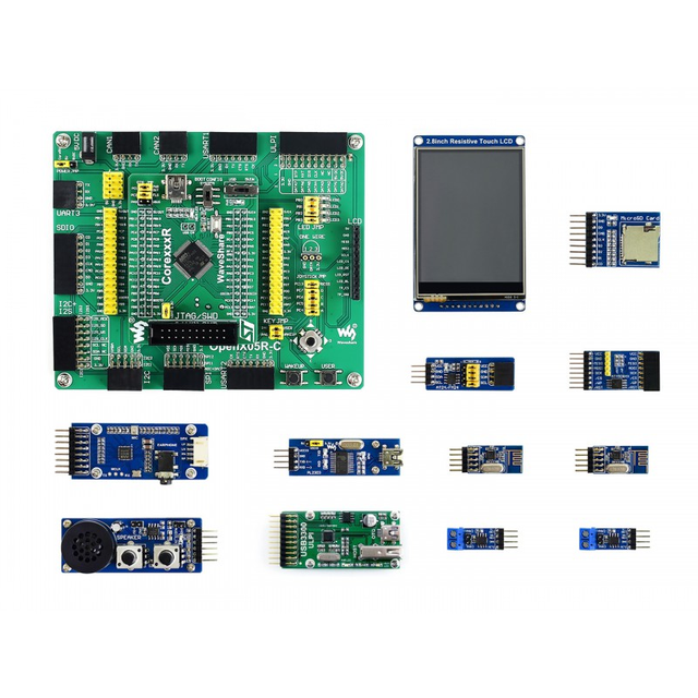 Open405R-C Package B # ARM Cortex-M4 STM32F405 STM32 Board STM32F405RGT6 + 11 Accessory Modules Kits