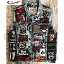Rock Heavy Metal Band Patch For Clothes Diy Punk Embroidered Sewing Iron On Patches Applique Thermal Stickers For Denim Jacket Buy Cheap In An Online Store With Delivery Price Comparison Specifications