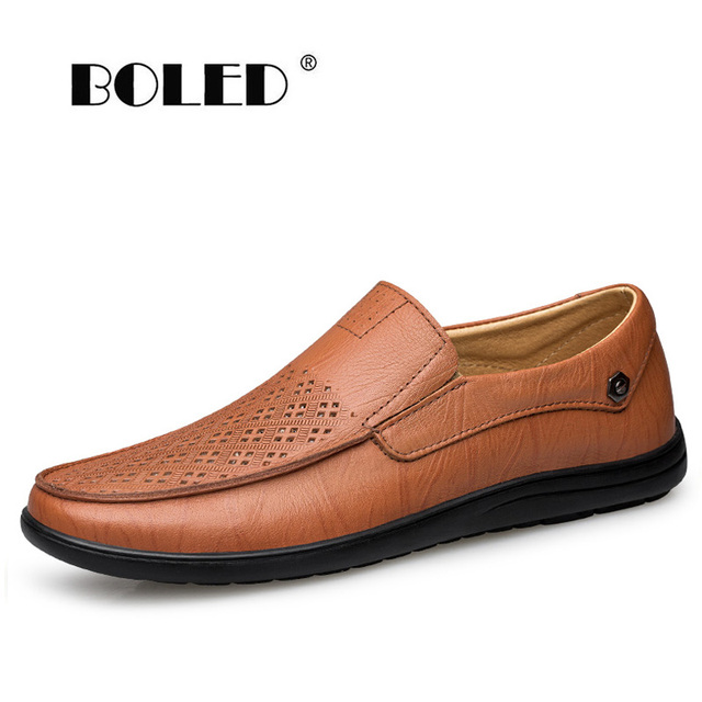 Quality Men Casual Shoes Fashion Men Shoes Genuine Leather Men Loafers Moccasins Slip On Men's Flats Male Driving Shoes