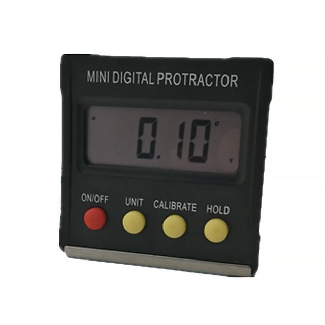 Mini Digital Display Inclinometer Angle Level Spirit Level Angle Box Protractor Angle Meter Neutral / Slope Meter 360degree