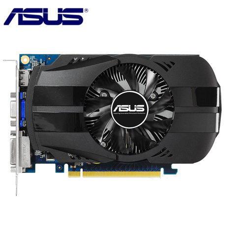 Asus Video Card Original Gtx 650 1gb 128bit Gddr5 Graphics Cards For Nvidia Geforce Gtx650 Hdmi Dvi Used Vga Cards On Sale Buy Cheap In An Online Store With Delivery Price