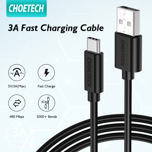 Micro USB Cable 3A USB Type C Cable 3A USB C to USB Type-C Cable 60W PD QC 4.0 Fast Charge Data Cable For huawei Samsung xiaomi