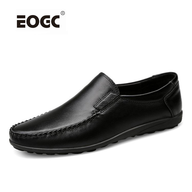 Handmade Plus Size Men Flats Shoes,High Quality Men Casual Shoes, Lace Up Loafers Moccasins Driving Shoes Men Dropshipping