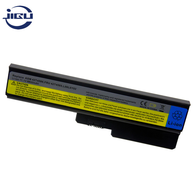 JIGU 9Cells Laptop Battery For Lenovo 42T4725 42T4726 42T4729 42T4730 51J0226 57Y6266 57Y6527 57Y6528 ASM 42T4586 42T4728