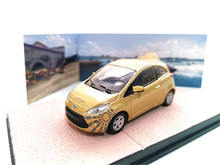 UH 1:43 FORD KA QUANTUM alloy model Car Diecast Metal Toys Birthday Gift For Kids Boy