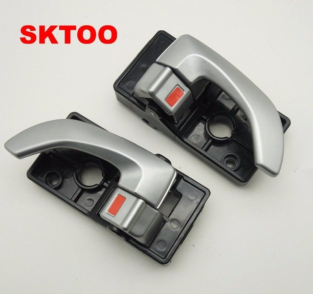 SKTOO INTERIOR DOOR HANDLE FOR HYUNDAI TUCSON 2005-2009 2005 2006 2007 2008 2009  82610-0L010 82620-0L010