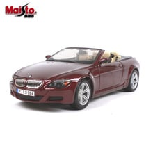 MAISTO 1:18 BMW M6 Diecasts Toy Vehicles Simulation Alloy Car Model Alloy Simulation Car Model Decoration Toy and Gifts for Kids