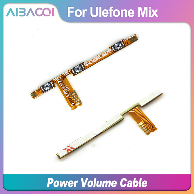 New Original Main Ulefone Mix power on/off+ volume FPC Key up/down button flex cable FPC For Ulefone Mix Phone