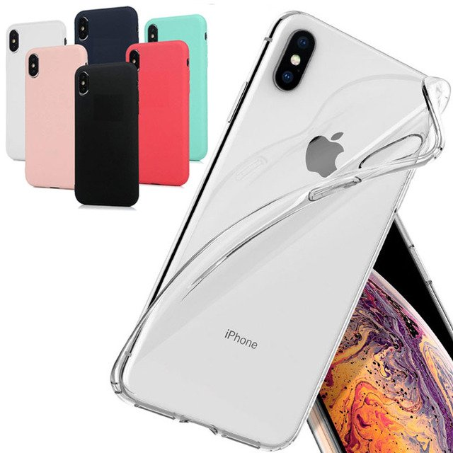 case for apple iPhone 6 plus 6S 8 7 XS MAX XR SE 2 2020 11 pro max clear transparent soft protect cover for iphone 6s plus case