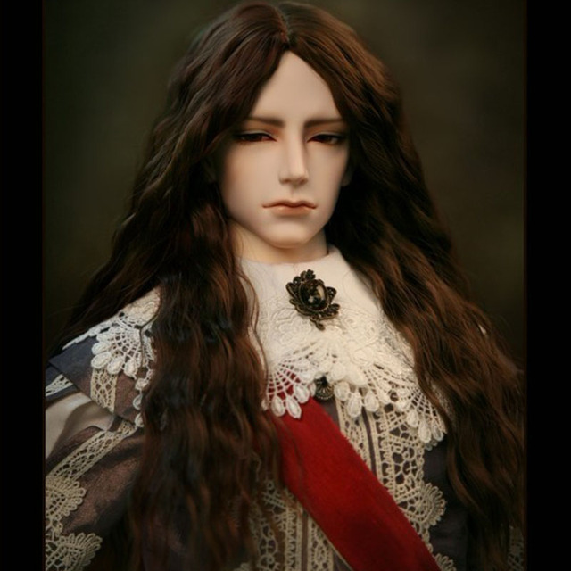 New Arrival Bjd SD Doll Wig 1/3 1/4 1/6 1/8 High Temperature Wire Long Fashion Wavy For BJD Super Hair Wig Free Shipping