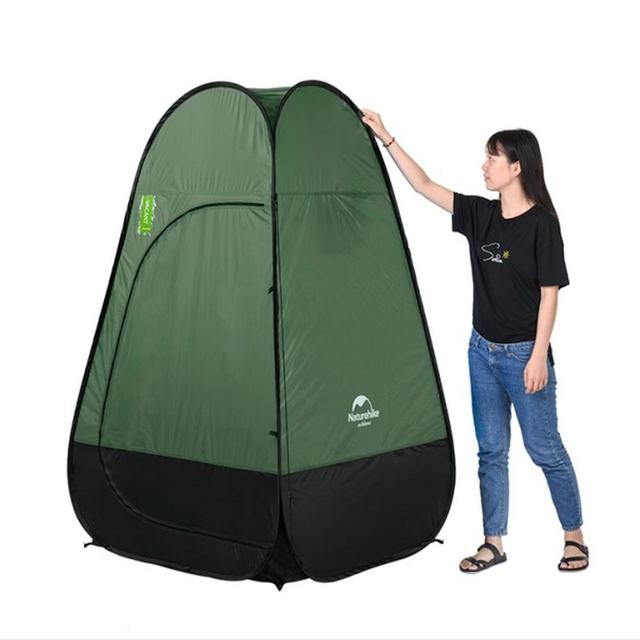 2020 Portable Privacy Shower Tent Beach Fishing Shower Outdoor Camping Toilet Tent changing Room dressing Tent With Carrying Bag