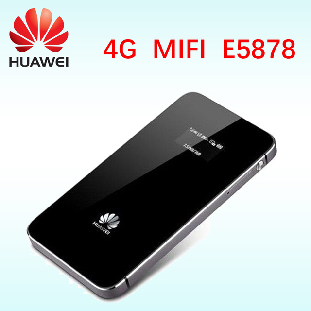 Old unlocked Huawei E5878 lte 4g router 150Mbps E5878s-32 4g LTE FDD all frequency 4g lte MiFi dongle  mobile wifi device
