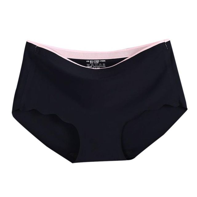 Ladies Breathable Intimates Briefs Low-Rise Panties  Fashion Womens Seamless Ultra-thin Underwear