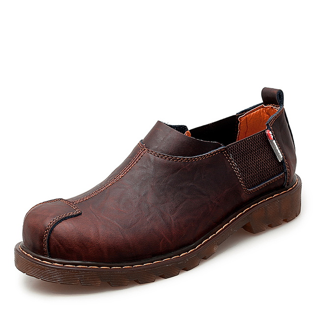 New Men's Shoes Breathable Genuine Leather Shoes Martin Loafers Men Flats Moccasin Oxford Shoes Fashion Boat Shoes Size 38-47