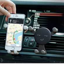 Professional Auto for Phone GPS Car Dashboard Phone Holder Universal Car Installation Vent Fashion Gravity Bracket Mobile