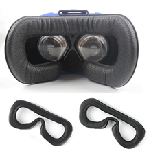 Soft PU Leather Face Foam Eye Mask Pad for HTC Vive VR Headset Breathable Eye Mask Cover for HTC Vive Accessories
