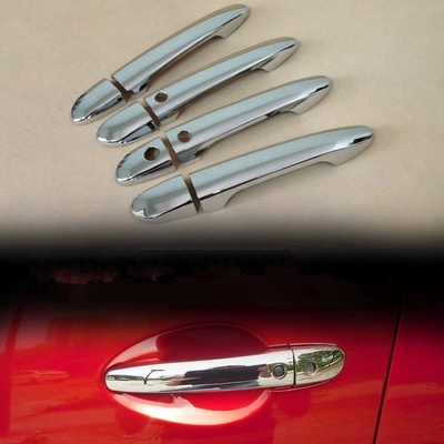 For Mazda cx5 cx-5 2012 2013 2014 2015 2016 2017 New CHROME CAR DOOR HANDLE COVER TRIM MOLDING CAR STYLING ACCESSORIES