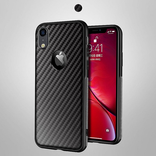 Carbon Fiber Case For iPhone 11 Pro XS Max XR X 8 7 6 6s Plus 5S SE 5 Soft Silicone Cover Case For Apple iPhone 11 Pro Max 8 7